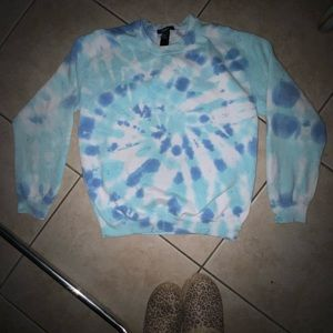 Forever21 XS/M Oversized Tiedye Sweater